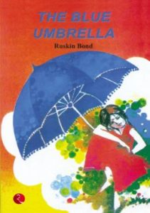 the blue umbrella